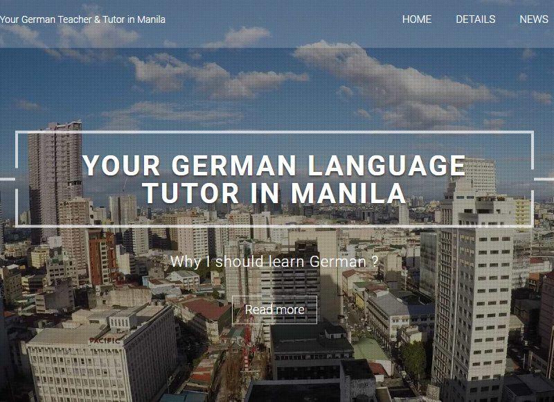 Your German Language Tutor in Manila